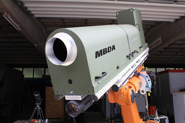 MBDA Germany's 40 kW laser successfully tested