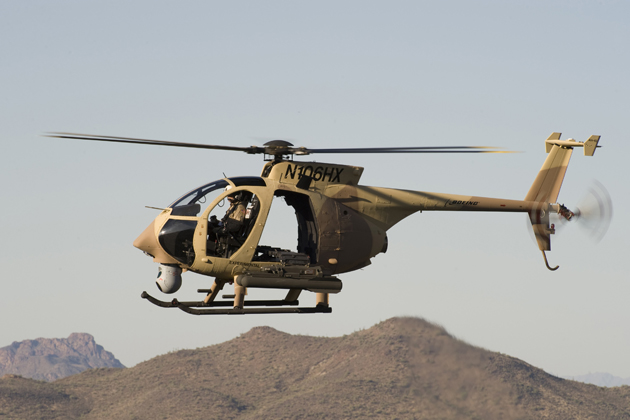 FIDAE 2012: Boeing offers AH-6i to South American customers