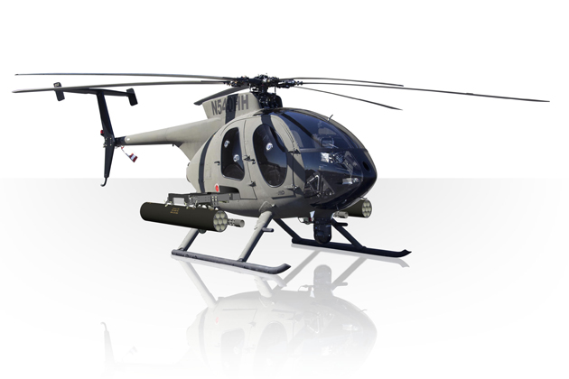 QuadA2012: MD540 makes its debut