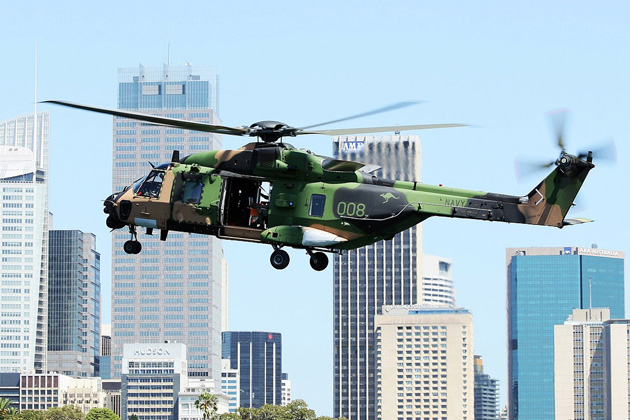 MRH-90 added to Australian Projects of Concern list