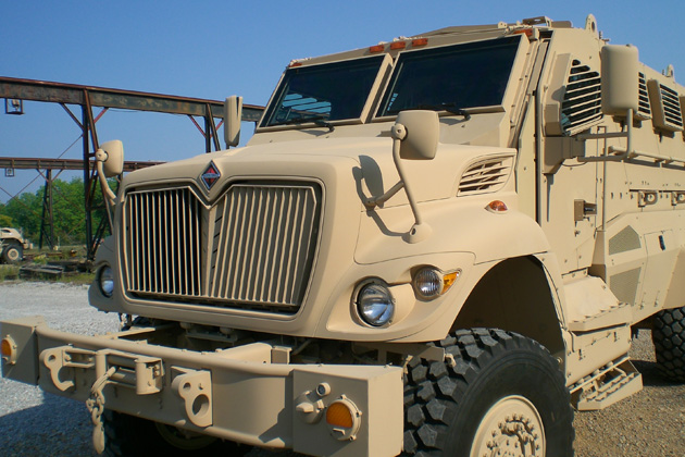 Navistar Defense wins MRAP RPG net contract