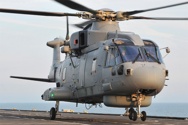 Merlin Mk2 puts to sea for the first time