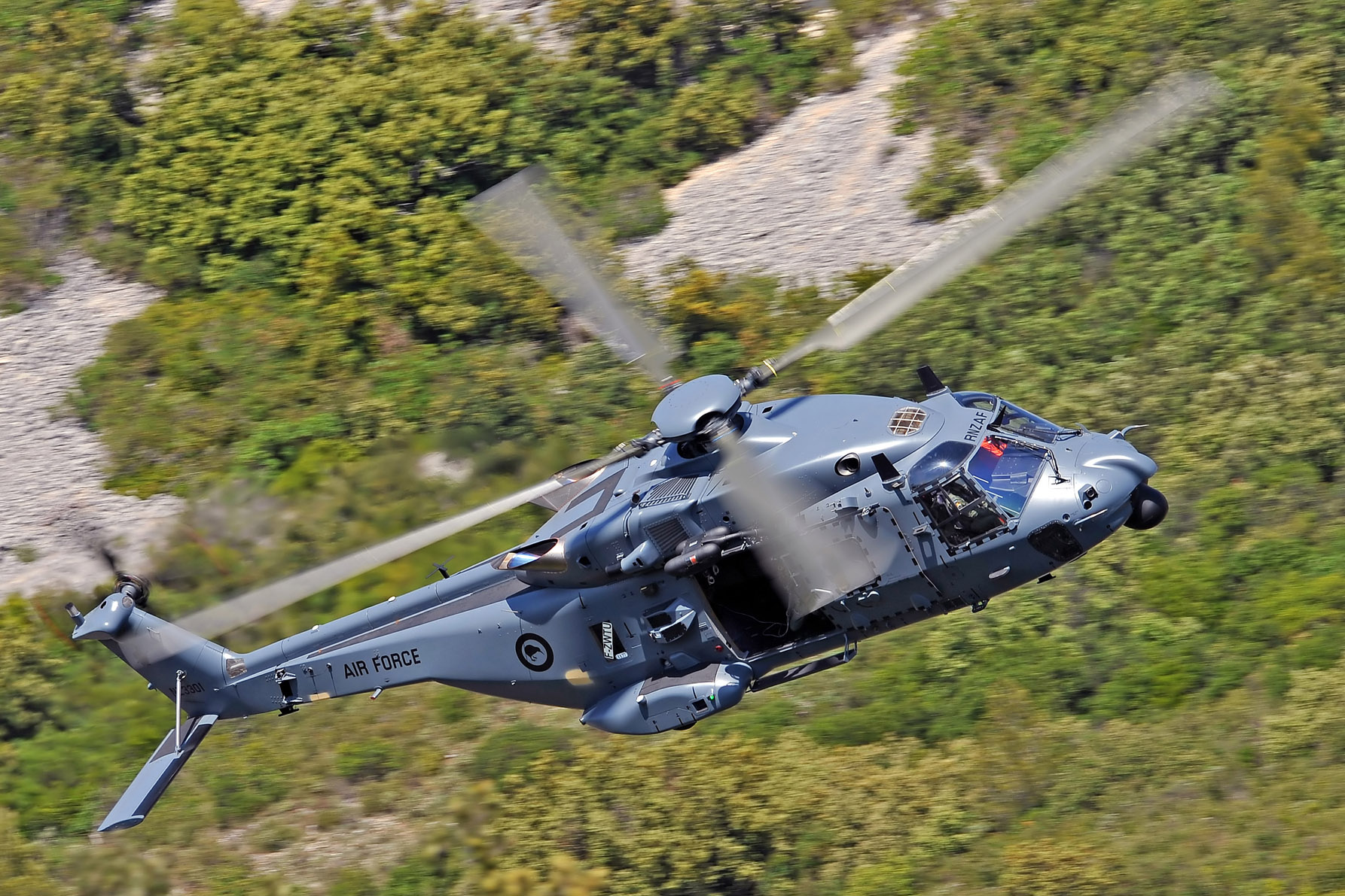 Development of multi-role NH90 TTH complete