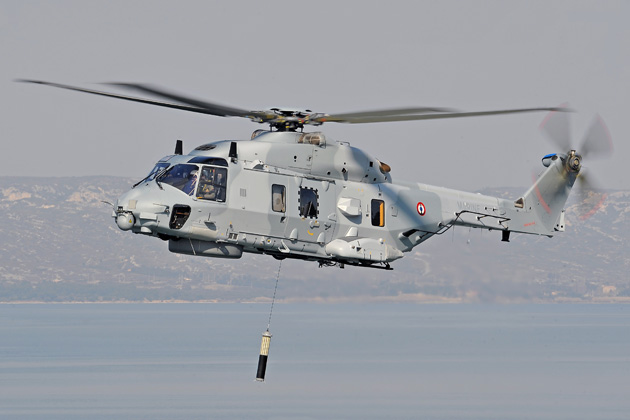 Construction begins at French NH90 training centre