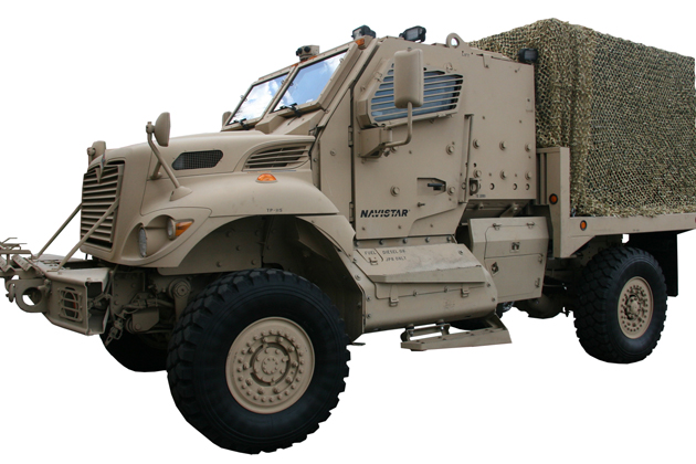 AUSA 2012: Navistar, DRS and Allison spotlight new logistics platform and power generation