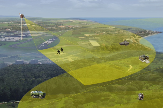 Eurosatory 2012: IAI Taman launches Peripheral Situational Awareness System (O-PAS)