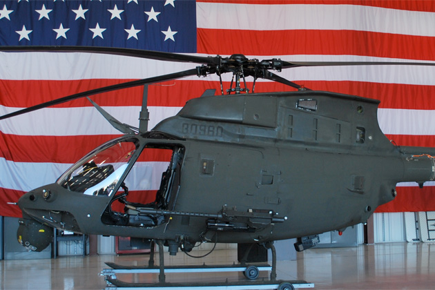 AUSA 2012: US Army takes delivery of first OH-58F