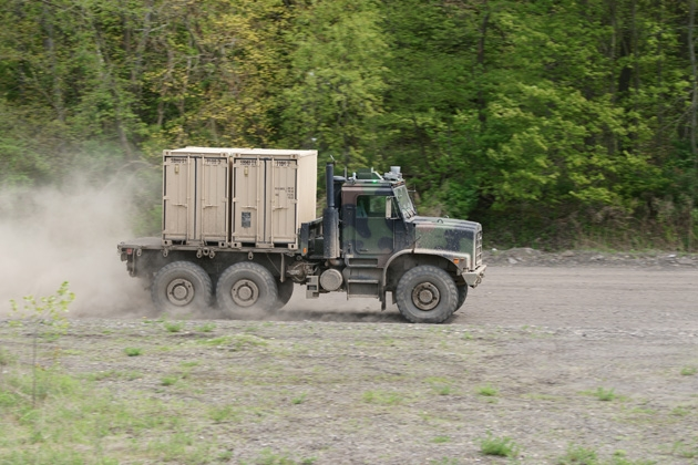 USMC progresses with MTVR tests