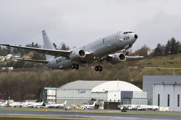 First USN P-8A Poseidon delivered