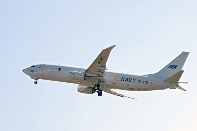 Indiaâ??s P-8I begins flight testing
