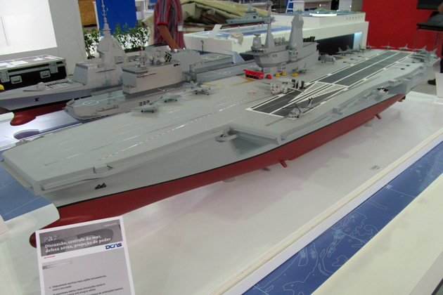 LAAD 2013: DCNS unveils Brazilian carrier design