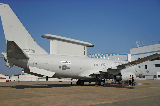 ROKAF receives 3rd Peace Eye AEW&C aircraft
