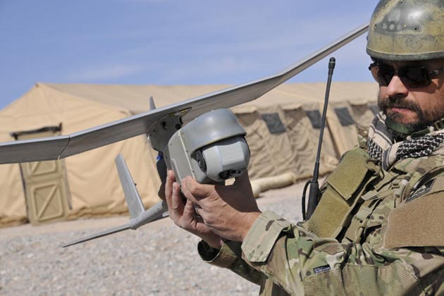 New Raven UAV miniature gimbaled sensor payload unveiled