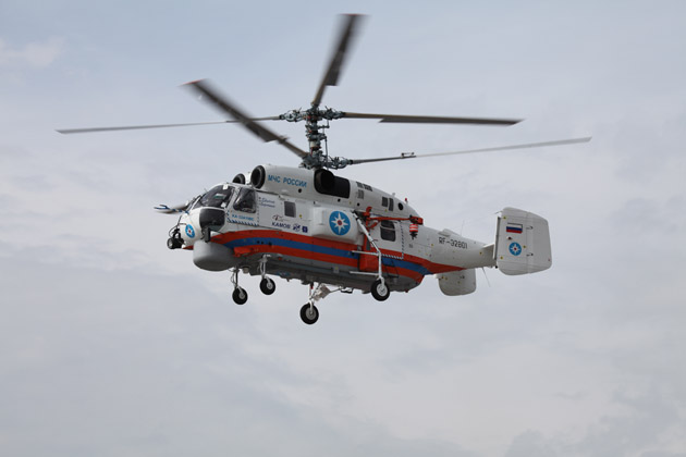 Russian Helicopters delivers Ka-32A11BCs to Russia