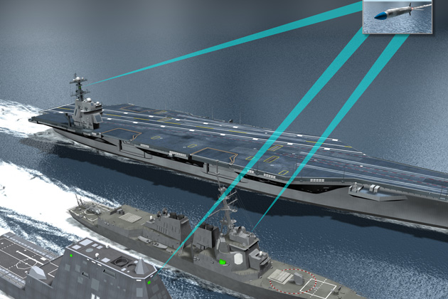 LM and Raytheon tie up for USN EW contract
