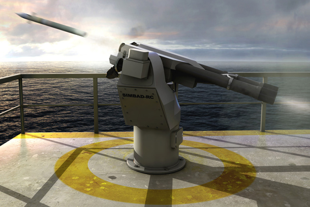 SIMBAD-RC air defence system contract for MBDA