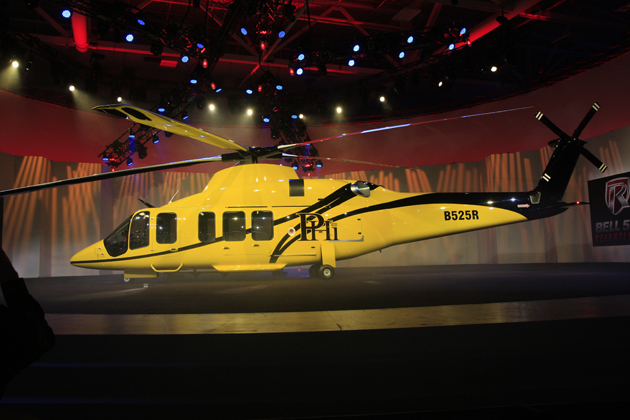 Heli-Expo 2012: Bell unveils 525 Super Medium Transport