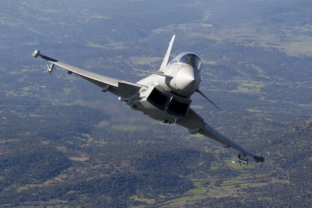 Eurofighter experience to aid in sense and avoid capabilities for UAVs