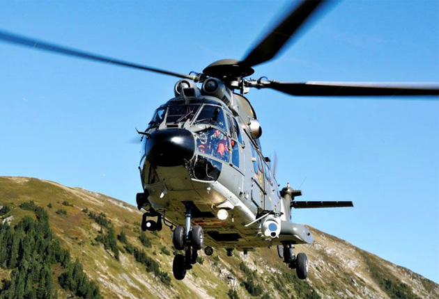 Swiss Air Force receives first upgraded Super Pumas