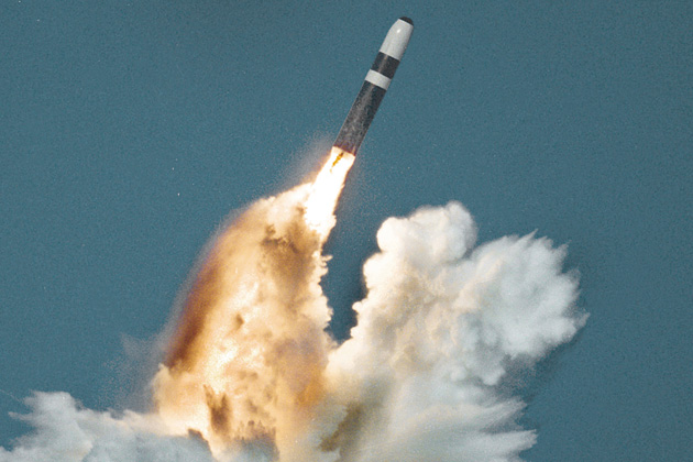 UK privatises Trident missile support