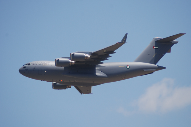 5th C-17 delivered to UAE Air Force and Air Defence