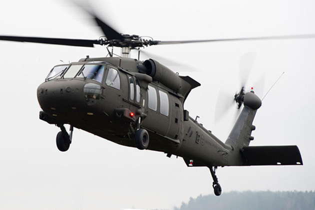 Swedish Armed Forces take delivery of Black Hawks