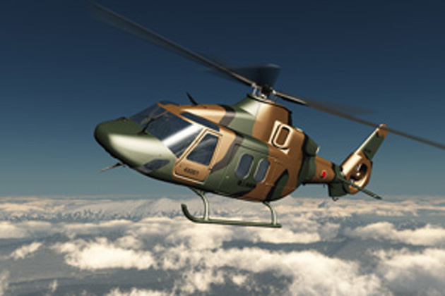 Kawasaki to leverage OH-1 technology in new utility helicopter