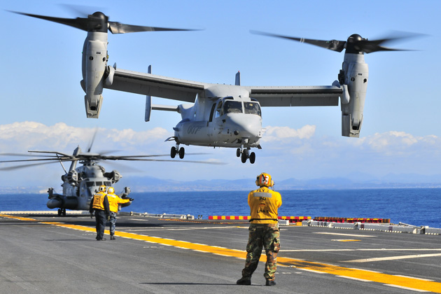 Japan clears the V-22 Osprey for flight