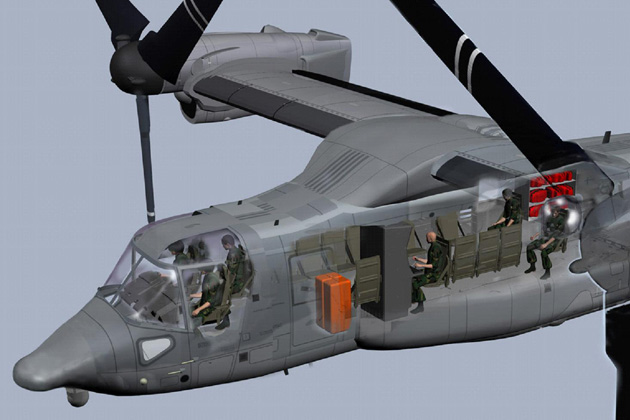 Dubai Airshow 2011: Bell-Boeing pitches the Osprey to GCC nations