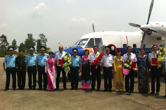 Airbus Military delivers C212 to Vietnam Marine Police