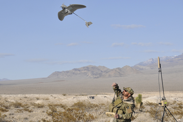 AeroVironment Wasp AE to be fitted with secure GPS capability