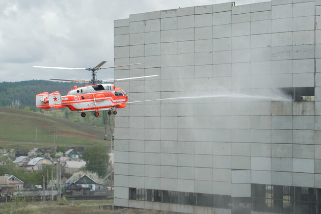 China signs contract for firefighting Kamov Ka-32
