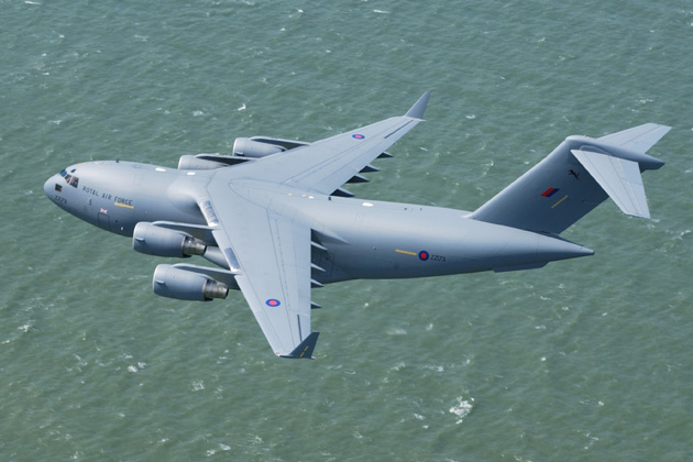 Extra C-17 for the RAF