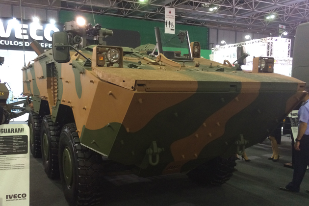 LAAD 2015: Industry hopes for Brazil 8x8 contract this year