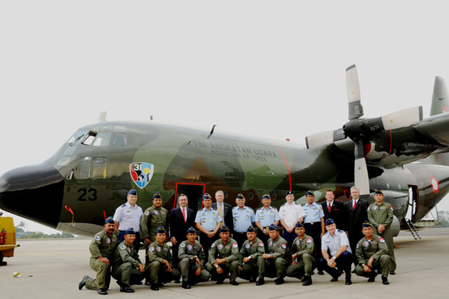 Upgraded C-130H delivered to Indonesia