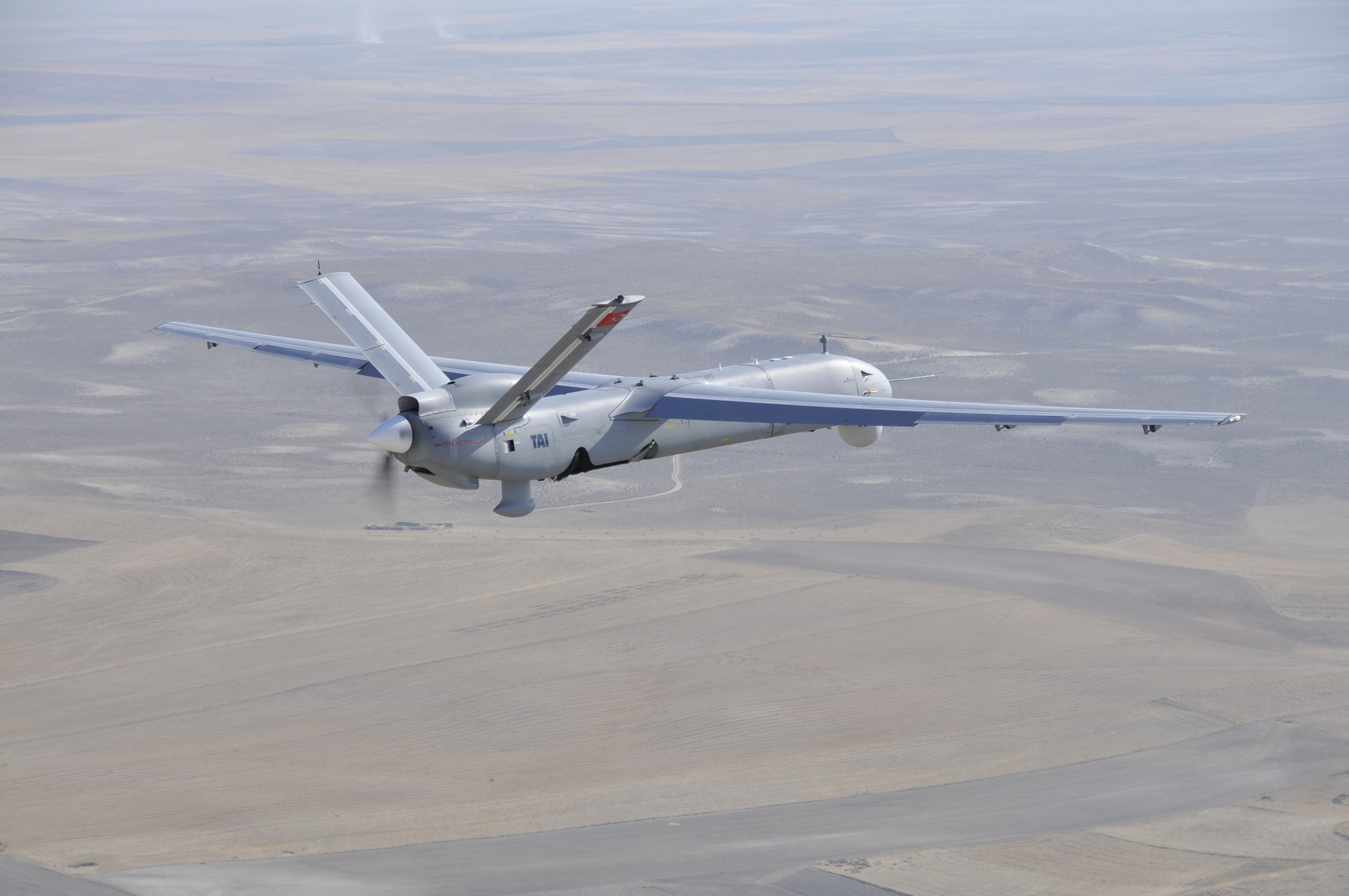 TAI's Anka undertakes test flight