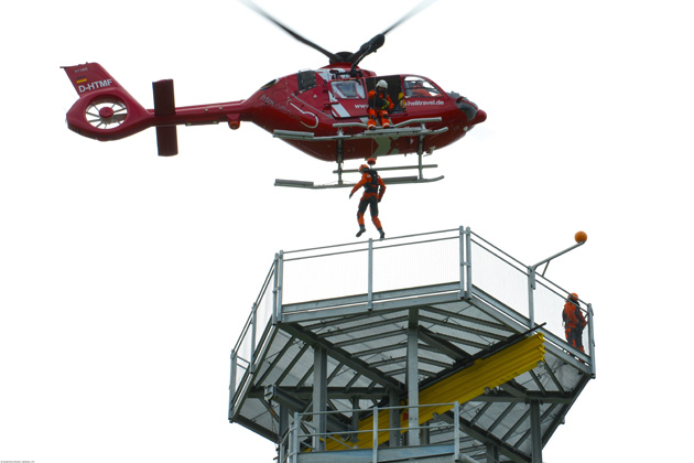 Offshore wind operation H135 delivered