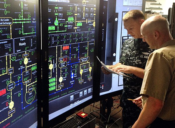 Pearl Harbor receives new diesel generator simulator