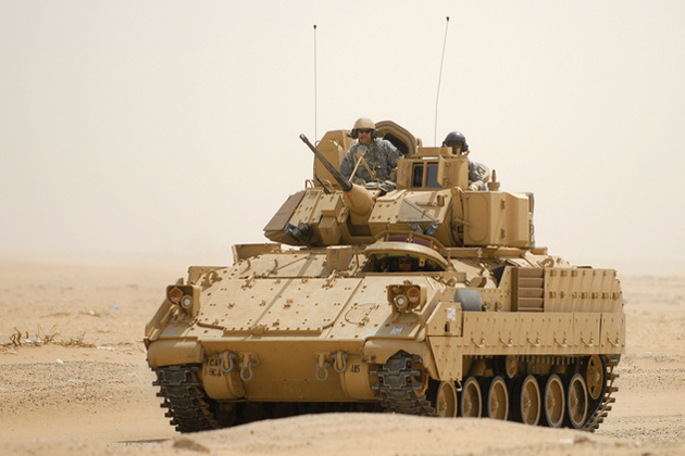 BAE Systems awarded new Bradley contract