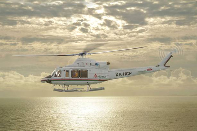Four Bell 412EPs delivered to Heliservicio Campeche
