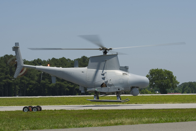 MQ-8B Fire Scout integrated with new radar