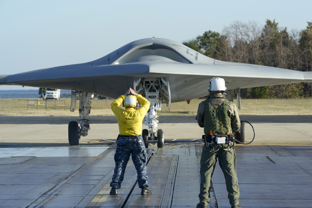 X-47B UAV successfully launched by catapult