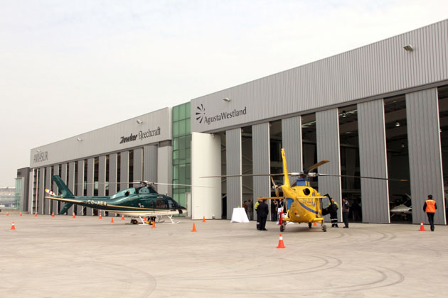 New AgustaWestland service centre opens in Chile