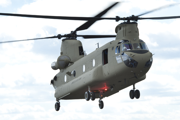 Boeing awarded CH-47 Chinook logistics contract