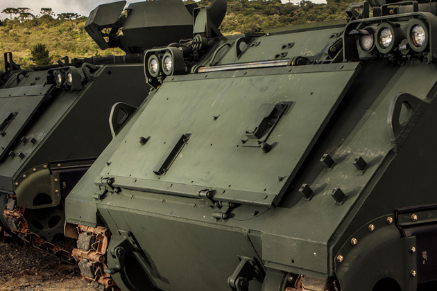 LAAD 2015: Brazilian M113 modernisation nears completion