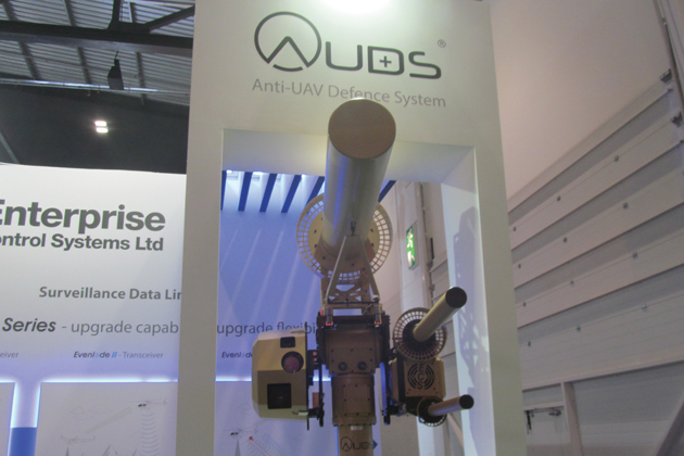 Helitech 2015: Anti-UAV system ready for production
