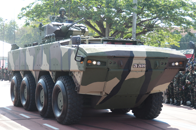 Malaysia receives first batch of AV8 vehicles
