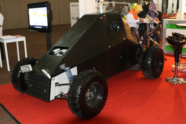 LIMA 2015: STRIDE unveils Malaysian unmanned designs for first time