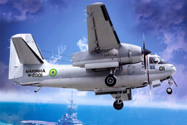 LAAD 2015: New engines delivered for Brazil C-1A modernisation
