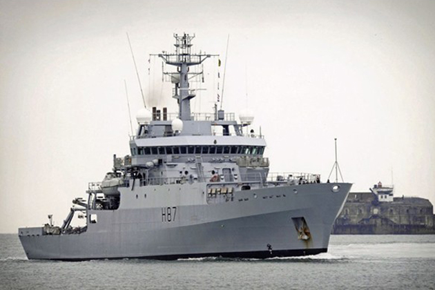 HMS Echo returns from 19 month deployment